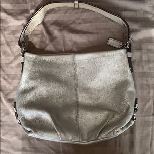 Champagne Coach Hobo Purse